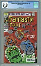 Fantastic Four Annual Facsimile Edition #6 CGC 9.8 Reprints 1st Annihilus 1969