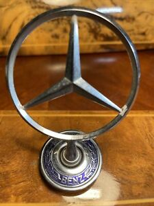 Genuine OEM Mercedes-Benz Hood Ornament Star Mercedesstern Emblem 2108800186