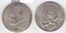 Juan pablo ii. 1978-05 virgen negra de Czêstochowa medalla unedel