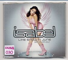 Isabel Maxi-CD Like Snow In June - 5-track PROMO Dieter Bohlen of modern talking