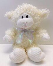 Commonwealth Cream Lamb Sheep Plush Ribbed Corduroy Chenille Face Hands Feet