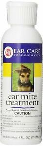 Miracle Care R-7M Ear Mite Treatment 4oz 4 Oz. New