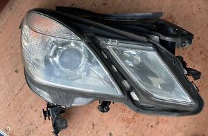 MERCEDES E Class W212 2012 Non Xenon Driver side Headlight O/S A2128208461KZ