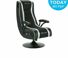X-Rocker Pegasus 4.1 Gaming Chair - Black/White - E162