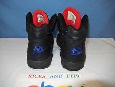 Vtg OG 1993 Nike Air Flight Shoes Us 10 Chicago Bulls Black Red Rare 630072-000