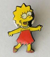 Lisa Simpson Pin Badge The Simpsons Authentic Rare Vintage (D8)