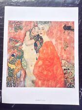 Klimt Imprimé Vintage 2002 les copines Art symbolisme art nouveau femme Gustav