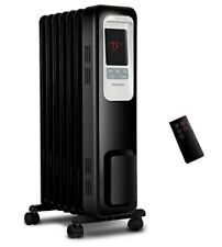 Pelonis Electric Radiator Heater 1500W Portable Oil Filled