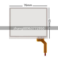 Touch Screen digitizer Glass for Garmin Zumo 400 500 550 76X63mm Replacement #3L