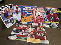 SAN FRANCISCO 49ers 2 Sign 8X10 PHOTO + Sports Illustrated Forty NINERS Lot Of 9