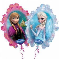 Folienballon EISKÖNIGIN ANNA & ELSA XXL 63x78cm Geburtstag Geschenk Luftballon