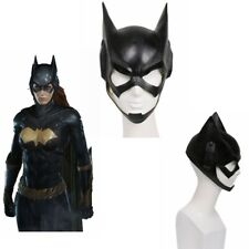 Batgirl Full Head Mask Cosplay Costume Latex Helmet Halloween Party Props Comic