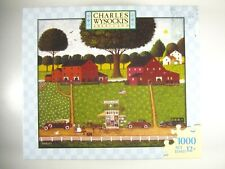Charles Wysocki 1000 Piece Jigsaw Puzzle - Tinkle Toms - Americana   Complete