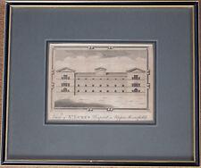 Chamberlain c1770 View of St Luke's Hospital in Upper Moorefields, Original