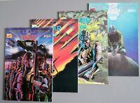The War Book 1 - 4: 1989 : Marvel Comics