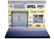 Diorama présentoir Opel - Garage G. Fröbe - 1/43ème - #43-2-A-A-007