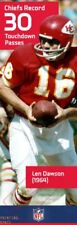 LEN DAWSON CHIEFS Super Bowl NFL Action POSTER Banner 2 feet x 6 feet