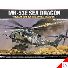 "Academy 1/48 MH-53E SEA DRAGON ""U.S. NAVY MINE HUNTER & COMBAT TRANSPORT"" #12703"