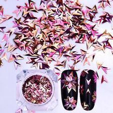 Chameleon Nail Art Glitter Sequins V-shaped Nail Iridescent Flakies BORN PRETTY