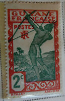 French Guiana 1929 Stamp 2c MNH Stamp Rare Antique StampBook1-68