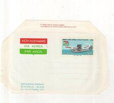 aerogramma esposizione mondiale di filatelia milano - 1976