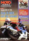 MOTO JOURNAL 1205 SUZUKI GSX-R 750 HONDA St 1100 Pan European GUZZI V10 Centauro