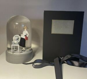 In The Style Of Dior Rare Snow globe Luxury Gift Present VIP. BNIB. Boxed. New