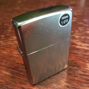 Genuine Zippo classic street chrome windproof Lighter CASE ONLY No Insert/Box