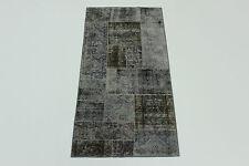 moderne Patchwork Délavé Used Look PERSAN TAPIS tapis d'Orient 2,05 X 0,98