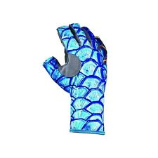 Buff Pro Series Angler 3 Gloves Tarpon Scales M/L (9-10) NEW FREE SHIPPING