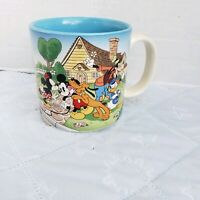 vtg Walt Disney  Coffee Mug  Mickey Minnie Donald Pluto Goofy Movie set?