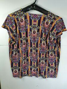 Tigerlily - Loose Fit Womens Print Top - Size Large
