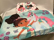 Nella the Princess Knight Twin Sheet Set