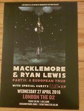 MACKLEMORE & RYAN LEWS PART II A EUROPEAN TOUR LONDON 02 APRIL16-GLORIOUS