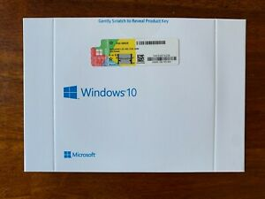 Microsoft Windows 10 Professional 64 Bit English.