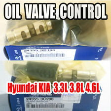 Hyundai KIA  3.3L 3.8L 4.6L Oil Control Valve Left&Right 1SET 24355-3C100,3C200