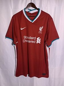 Nike Liverpool FC Stadium Red Home Jersey 20/21 Size 2XL - MSRP $90