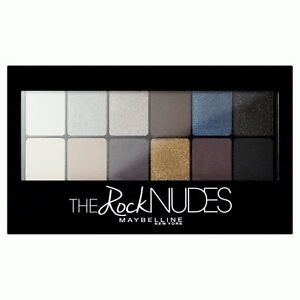 Maybelline THE ROCK NUDES 12 Eyeshadow Palette Smoky Matte Satin Shimmer NEW IN!