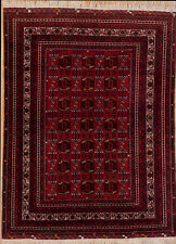 Afghanistan Vintage Oriental Rug Size 5.1 x 6.10 All Hand Knotted Afghan Balouch