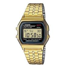 Casio Classic A-159WGEA Retro Digital Gold Watch
