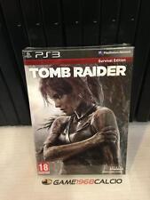 TOMB RAIDER SURVIVAL EDITION PS3 NUOVO VERSIONE ITALIANA NEW VIDEOGIOCO