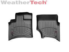 WeatherTech FloorLiner - Audi Q7 - 2007-2015 - 1st Row - Black
