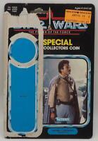 Vintage Star Wars General Lando Calrissian 92 Back Cardback Last 17 POTF