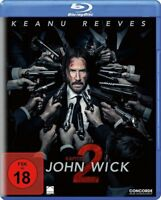 John Wick: Kapitel 2 [Blu-ray](FSK 18/NEU/OVP)  Keanu Reeves, Laurence Fishburne