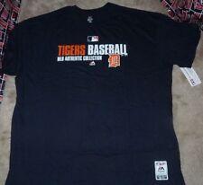 NEW MLB Detroit Tigers Baseball T Shirt  4XL XXXXL BIG & TALL Men Blue NEW NWT