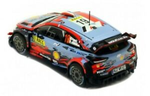 HYUNDAI I20 COUPE' WRC #19 LOEB/ELENA Rally Catalunya 1:18 IXO NO ALTAYA