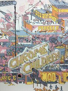 Chrome Children - 2006 Burlesque of North America poster Multiple Venue Tour