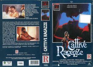 CATTIVE RAGAZZE 1992 EVA GRIMALDI FLORENCE GUERIN VHS ORIGINALE MANZOTTI OTTIMA