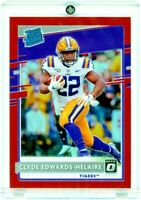 CLYDE EDWARDS-HELAIRE 2020 Panini Chronicles Optic RED Refractor Rated Rookie RC