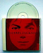 MICHAEL JACKSON - INVINCIBLE [Red Cover](CD 2001) Prince/Lionel Richie/Babyface